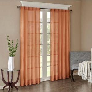 🆕️ Madison Park Avery Solid Crush Window Panel